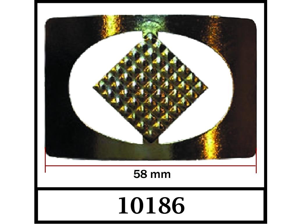 10186 / DIŞ ÖLÇÜ : 58 mm x 40 mm