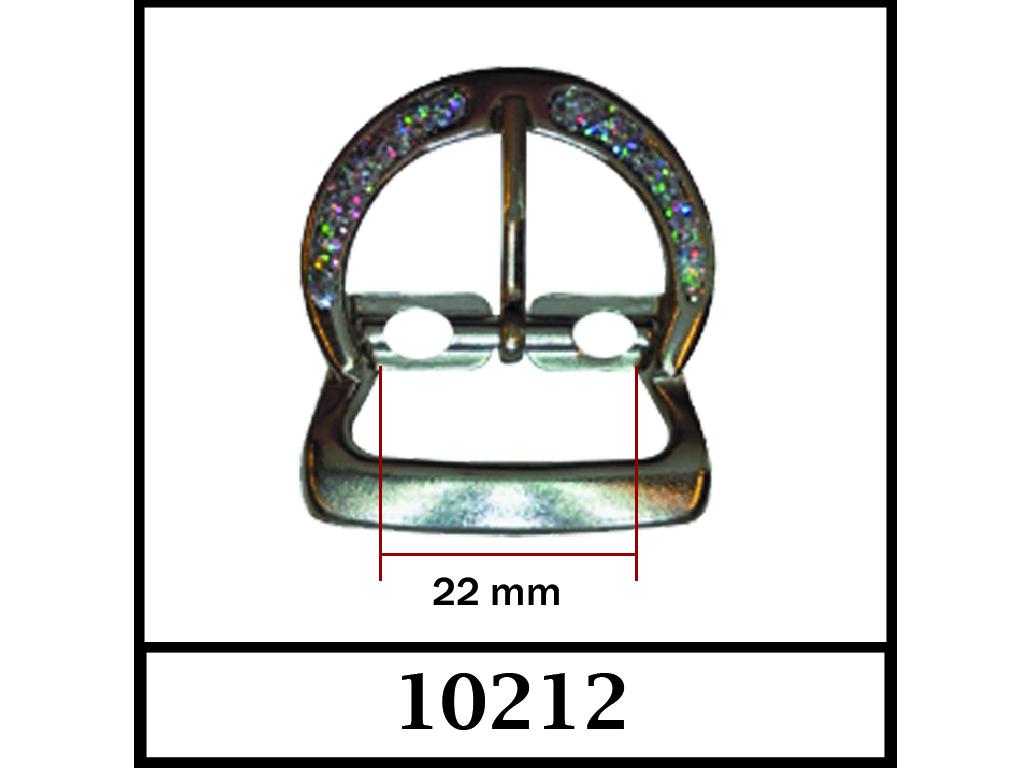 10212 - 22 mm / DIŞ ÖLÇÜ : 37 mm x 33 mm