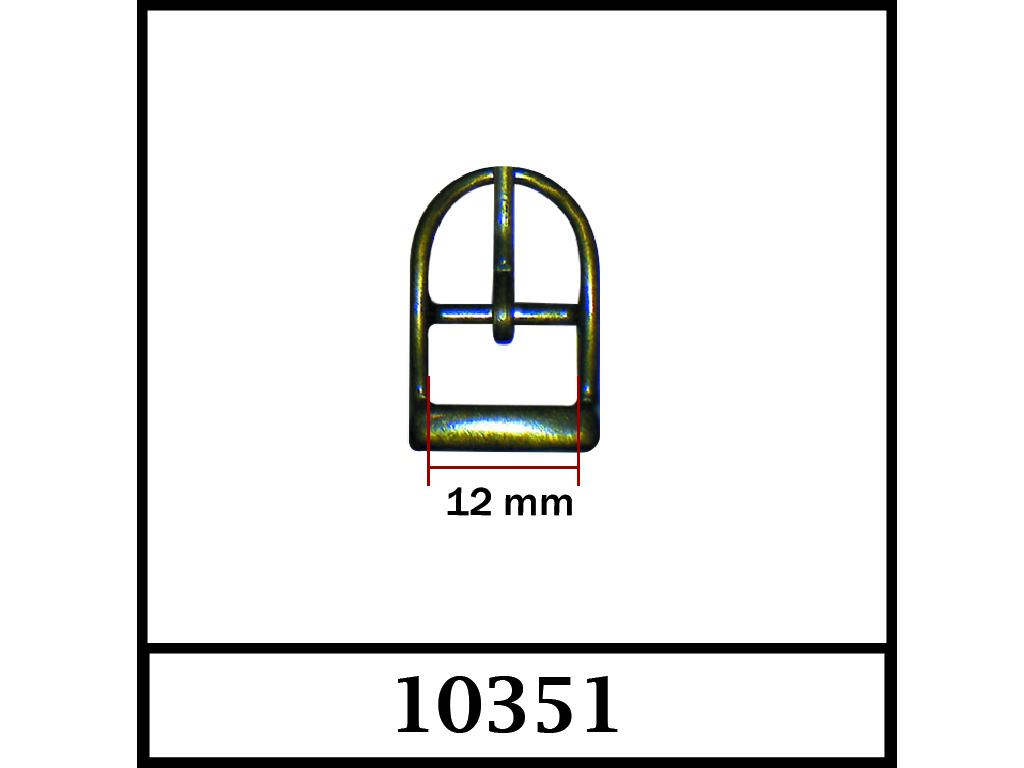 10351 - 12 mm / DIŞ ÖLÇÜ : 22 mm x 15 mm