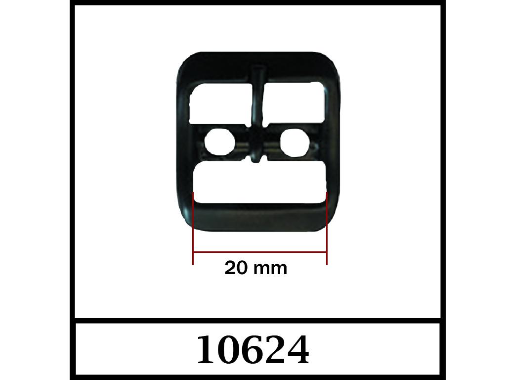 10624 - 20 mm / DIŞ ÖLÇÜ : 29 mm x 26 mm