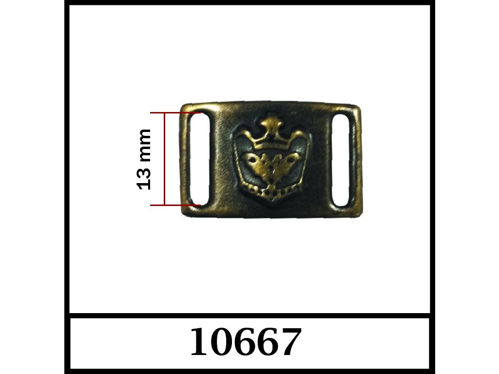 10667 - 13 mm / DIŞ ÖLÇÜ : 30 mm x 19 mm