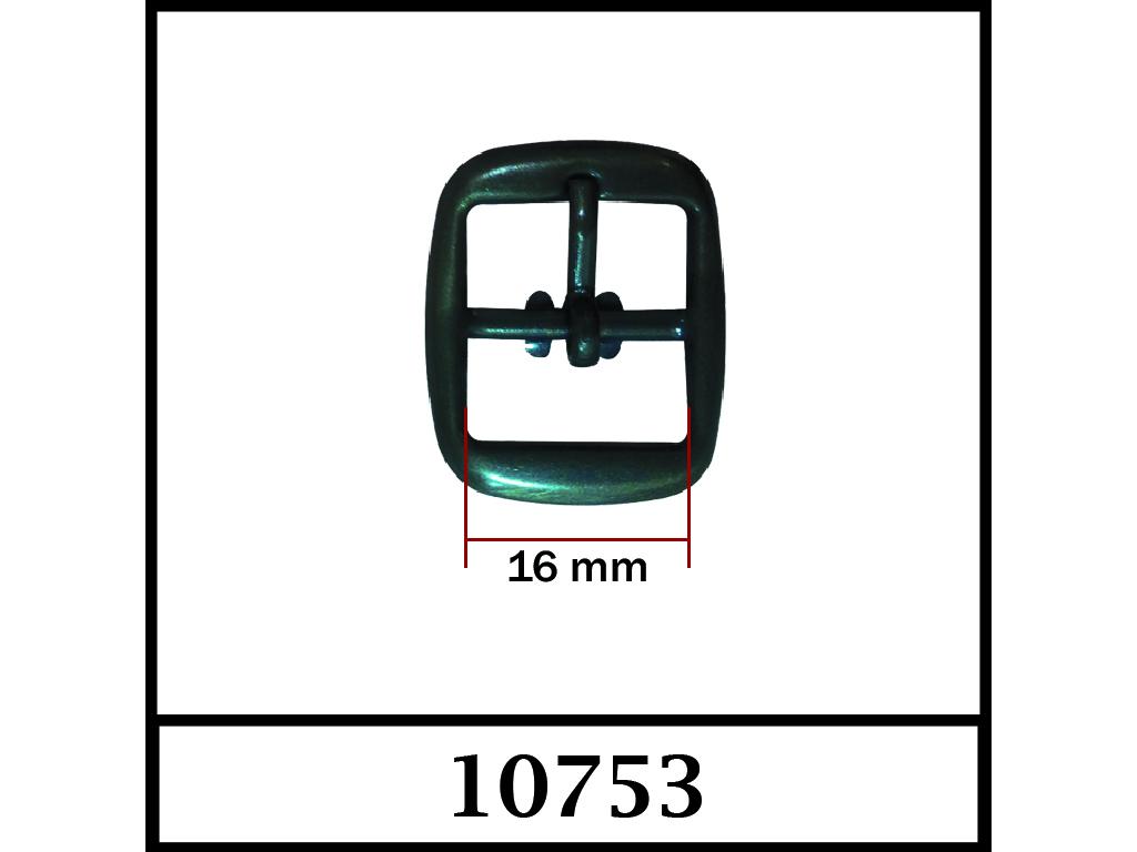 10753 - 16 mm / DIŞ ÖLÇÜ : 26 mm x 21 mm