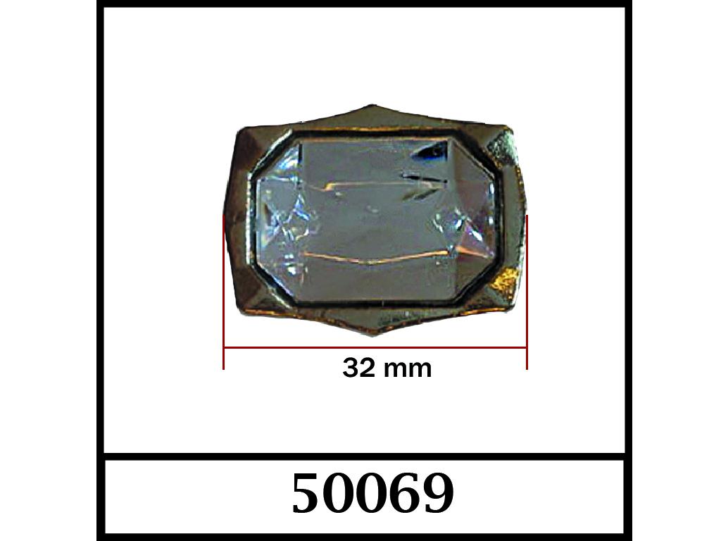 50069 / DIŞ ÖLÇÜ : 32 mm x 26 mm