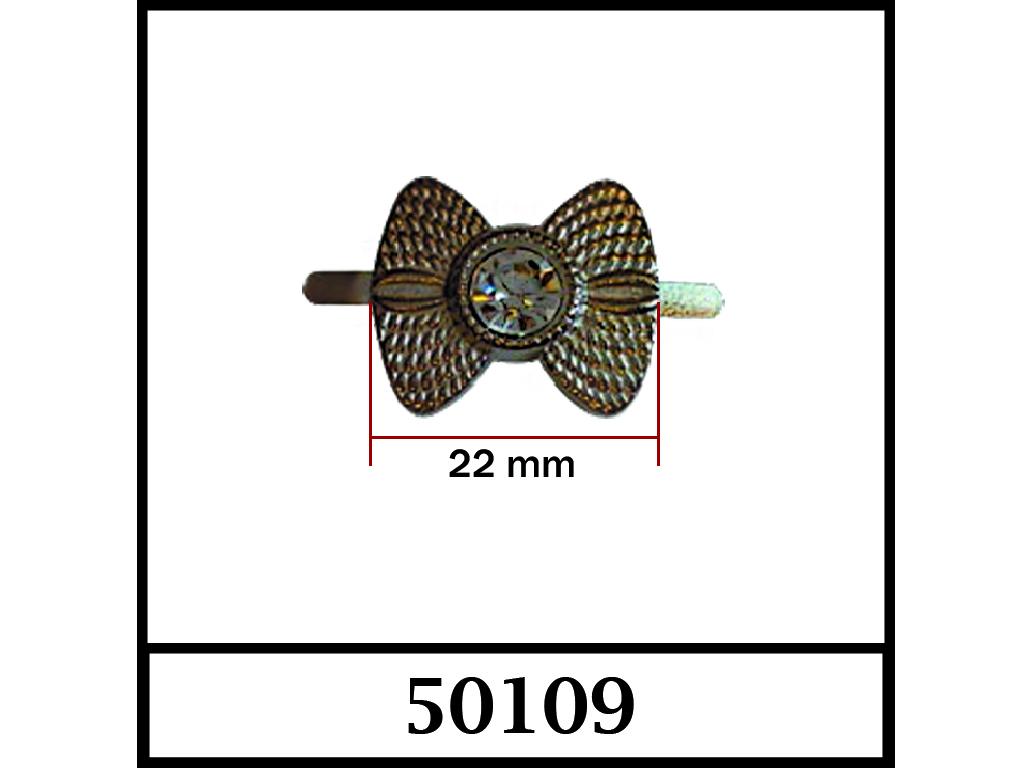 50109 / DIŞ ÖLÇÜ : 22 mm x 21 mm
