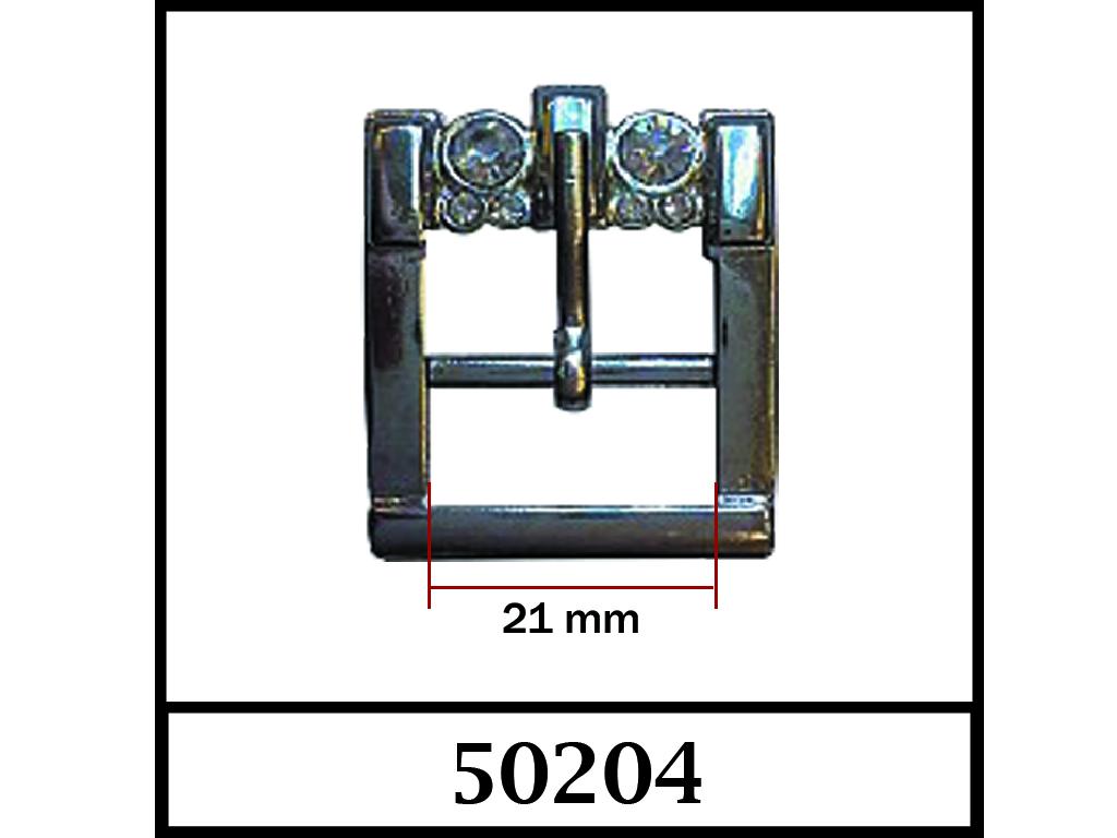 50204 - 21 mm / DIŞ ÖLÇÜ : 34 mm x 30 mm