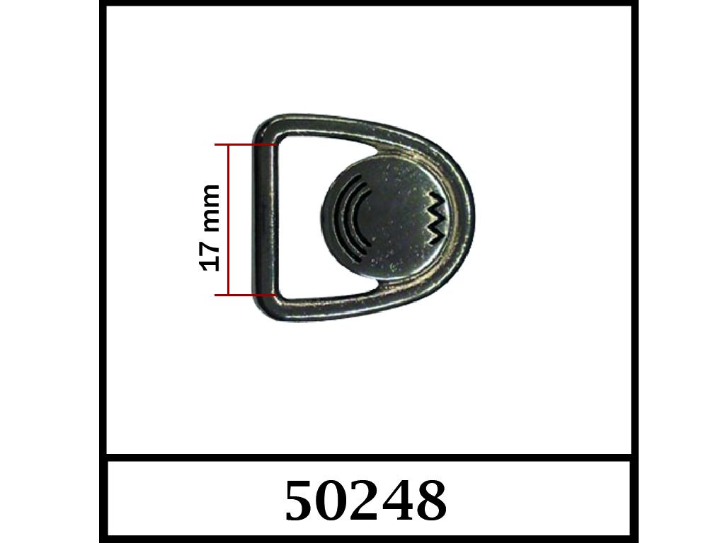 50248 - 17 mm / DIŞ ÖLÇÜ : 25 mm x 23 mm