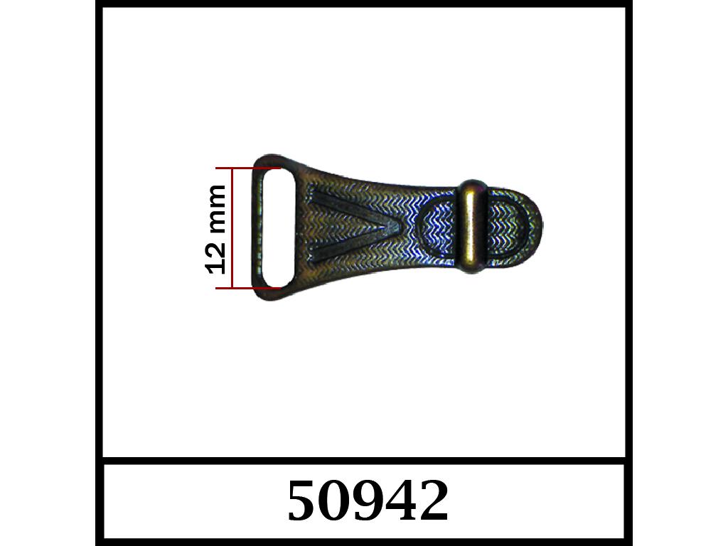 50942 - 12 mm / DIŞ ÖLÇÜ : 32 mm x 16 mm