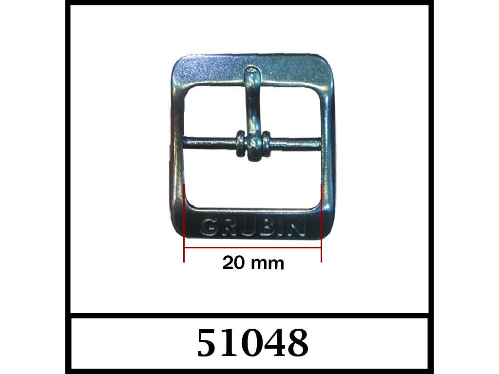 51048 - 20 mm / DIŞ ÖLÇÜ : 30 mm x 27 mm