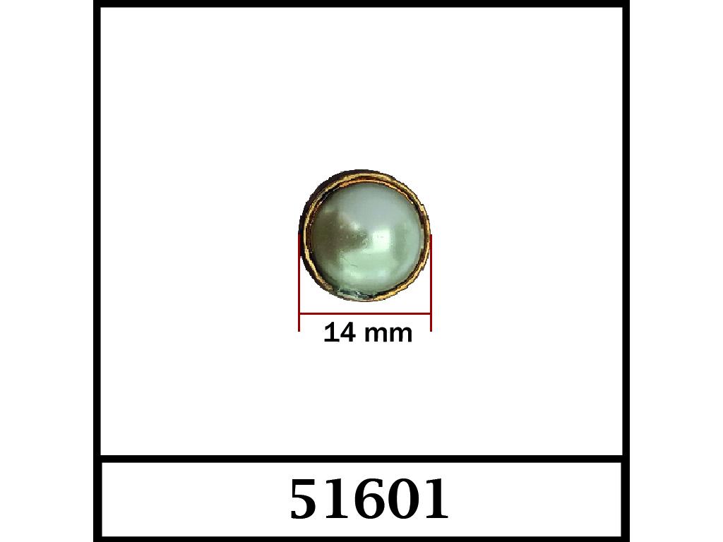 51601 / DIŞ ÖLÇÜ : 14 mm x 14 mm